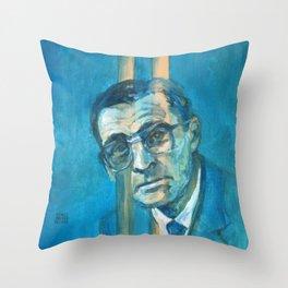 C.L. Stevenson Throw Pillow
