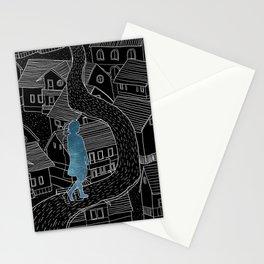 Dream walker / Illustration Stationery Cards