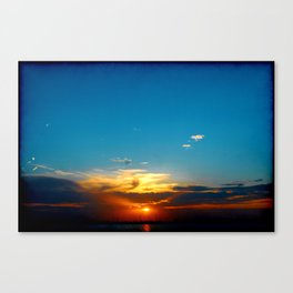 Sunset 071318 Abilene, Texas Canvas Print