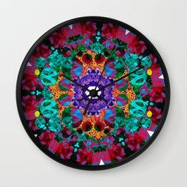 Flower Eye Wall Clock