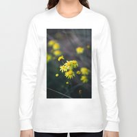 daisies Long Sleeve T-shirts featuring Daisies by Ellen Richardson