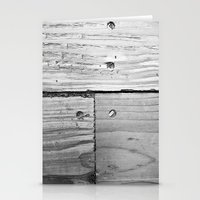 wooden Stationery Cards featuring WOODEN  by mark jones
