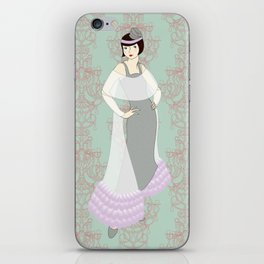 Flapper ready for the new Roaring Twenties! (2) iPhone Skin