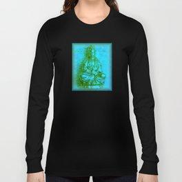 Jade Kwan Yin Long Sleeve T-shirt