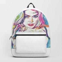 Doutzen Kroes (Creative Illustration Art) Backpack