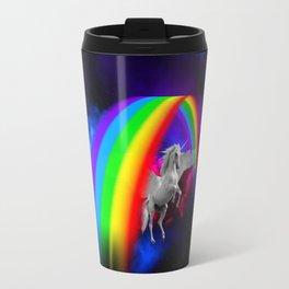 Unicorn & Rainbow Travel Mug