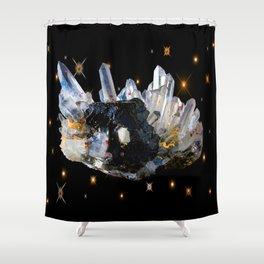 Star Aura Quartz Shower Curtain