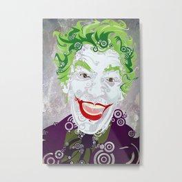 The Clown Prince 60 Metal Print