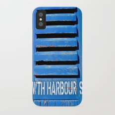 Howth Harbour Shutter iPhone X Slim Case