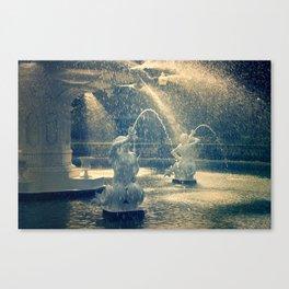 Savannah Forsyth Fountain Canvas Print