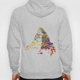 Matterhorn mountainsplash color Hoody