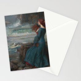 John William Waterhouse - Miranda Stationery Cards