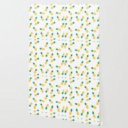 PINEAPPLE ANANAS FRUIT FOOD PATTERN Wallpaper