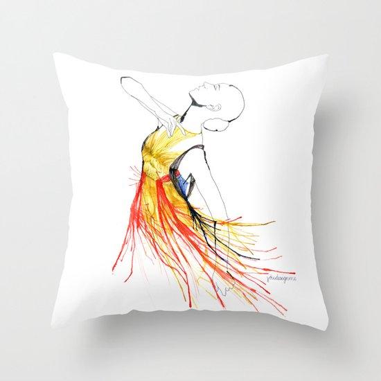 Yulia Throw Pillow