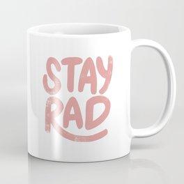 Stay Rad Vintage Pink Coffee Mug