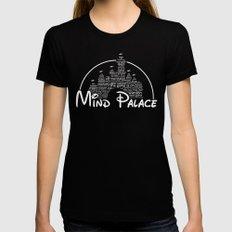 Mind Palace Black Womens Fitted Tee MEDIUM