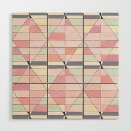 Sorbet Pinks Wood Wall Art
