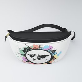 It's travel time Fanny Pack