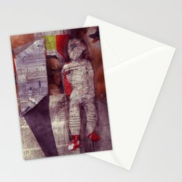 Man In Doorway Stationery Cards
