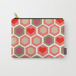 Heart Pattern 1 Carry-All Pouch