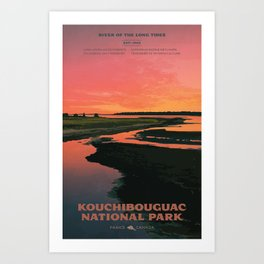 Kouchibouguac National Park Art Print