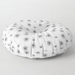 Spider Webs Floor Pillow