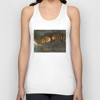 feet Tank Tops featuring Cold Feet by Sam Rowe Illustration