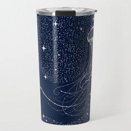 starry jellyfish Travel Mug