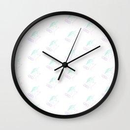 Menstruating Unicorn Princess Wall Clock