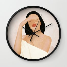 Gentle Beauty Wall Clock
