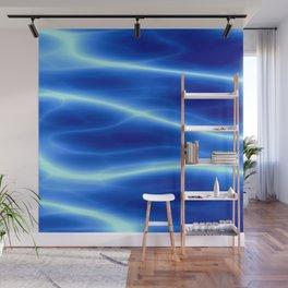 Blue flame Wall Mural