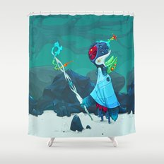 Observant Shower Curtain