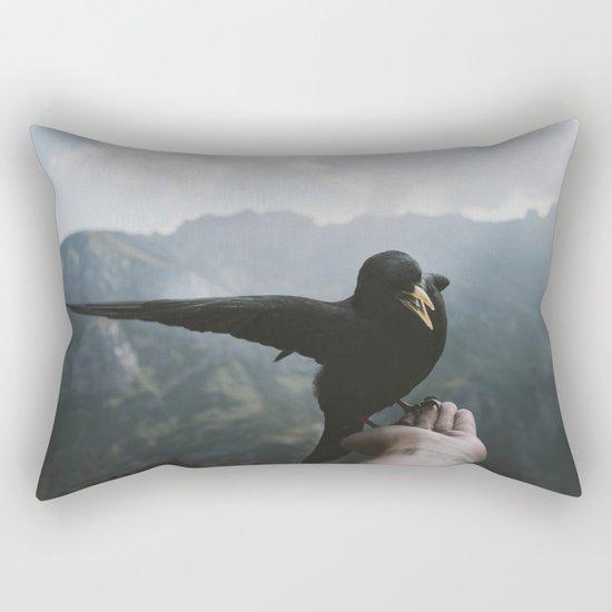 A wild Bird - landscape photography Rectangular Pillow