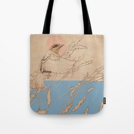 Myshkin Sparrow Tote Bag
