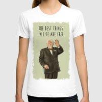 mad men T-shirts featuring Bert Cooper (Mad Men) by San Fernandez