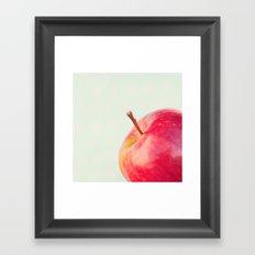 Apple. Framed Art Print