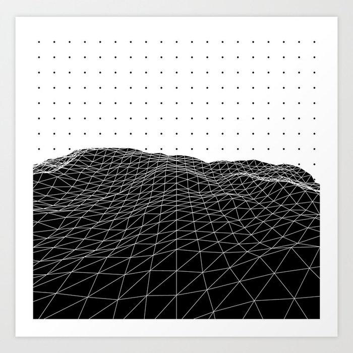 Terra Graphica Art Print
