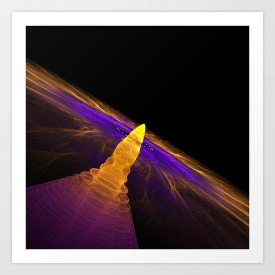 Solar Burst Art Print