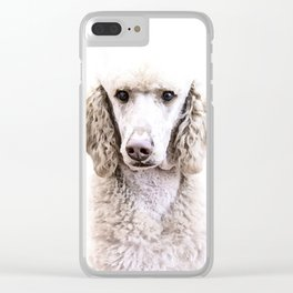Standard Poodle Clear iPhone Case
