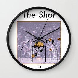 The Shot Series, Derek Fisher Wall Clock