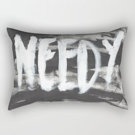 needy Rectangular Pillow