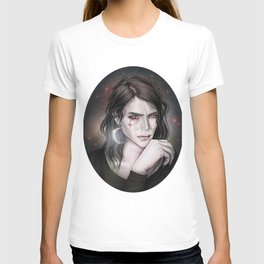 Son of the moon Gothic portrait T-shirt