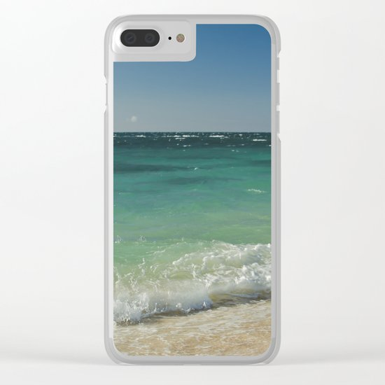 A Paradise of Colour Clear iPhone Case