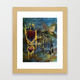 HONEYLOVE Art @ 423WEST Gallery  Framed Art Print