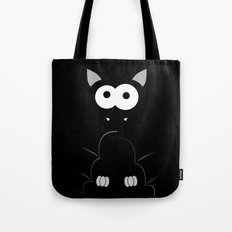 Minimal Bat Tote Bag