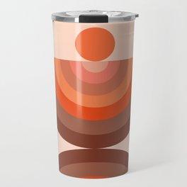 Abstraction_SUN_Rainbow_Minimalism_002 Travel Mug