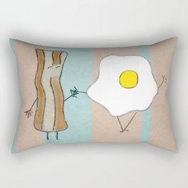 Bacon & Egg Togetherness Rectangular Pillow
