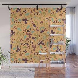 Swirls & Curls Wall Mural