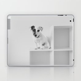Puppy waiting Laptop & iPad Skin