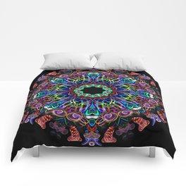 LED Hoop Mandala w/ Fire Comforters